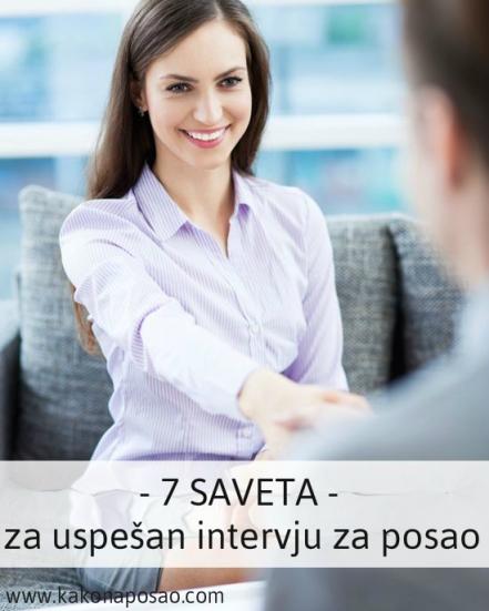 intervju za posao kako na posao