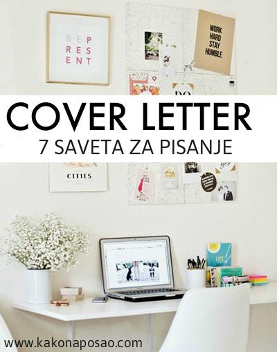 kako na posao cover letter