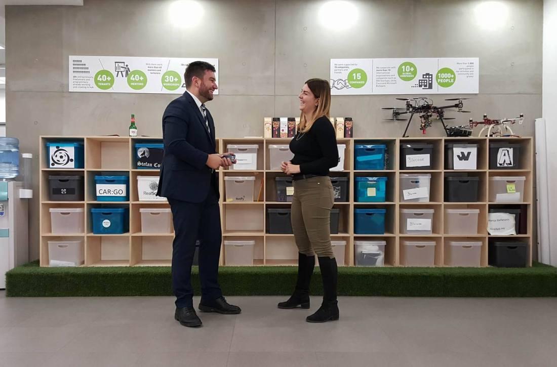 Jovana Lea Simic i Darko Mandic Little Blue Pot Kako na posao intervju
